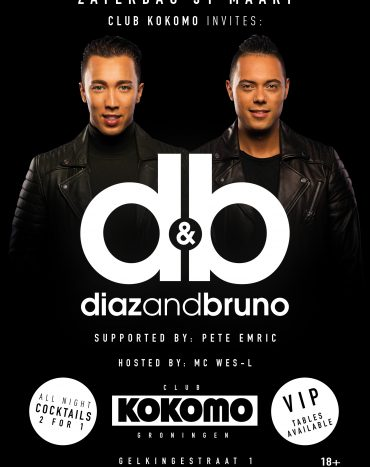 Club Invite: Diaz & Bruno