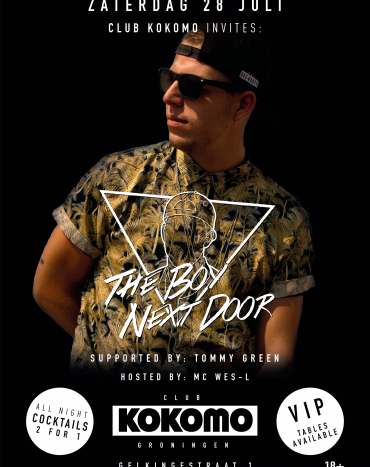 Club Invites: The Boy Next Door