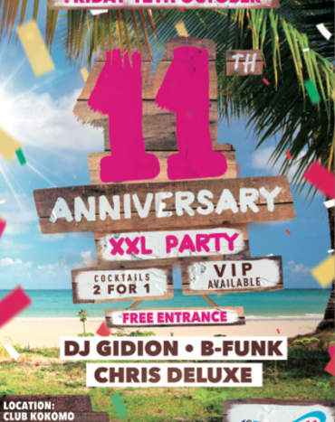 Ocean41 11th Anniversary XXL Party