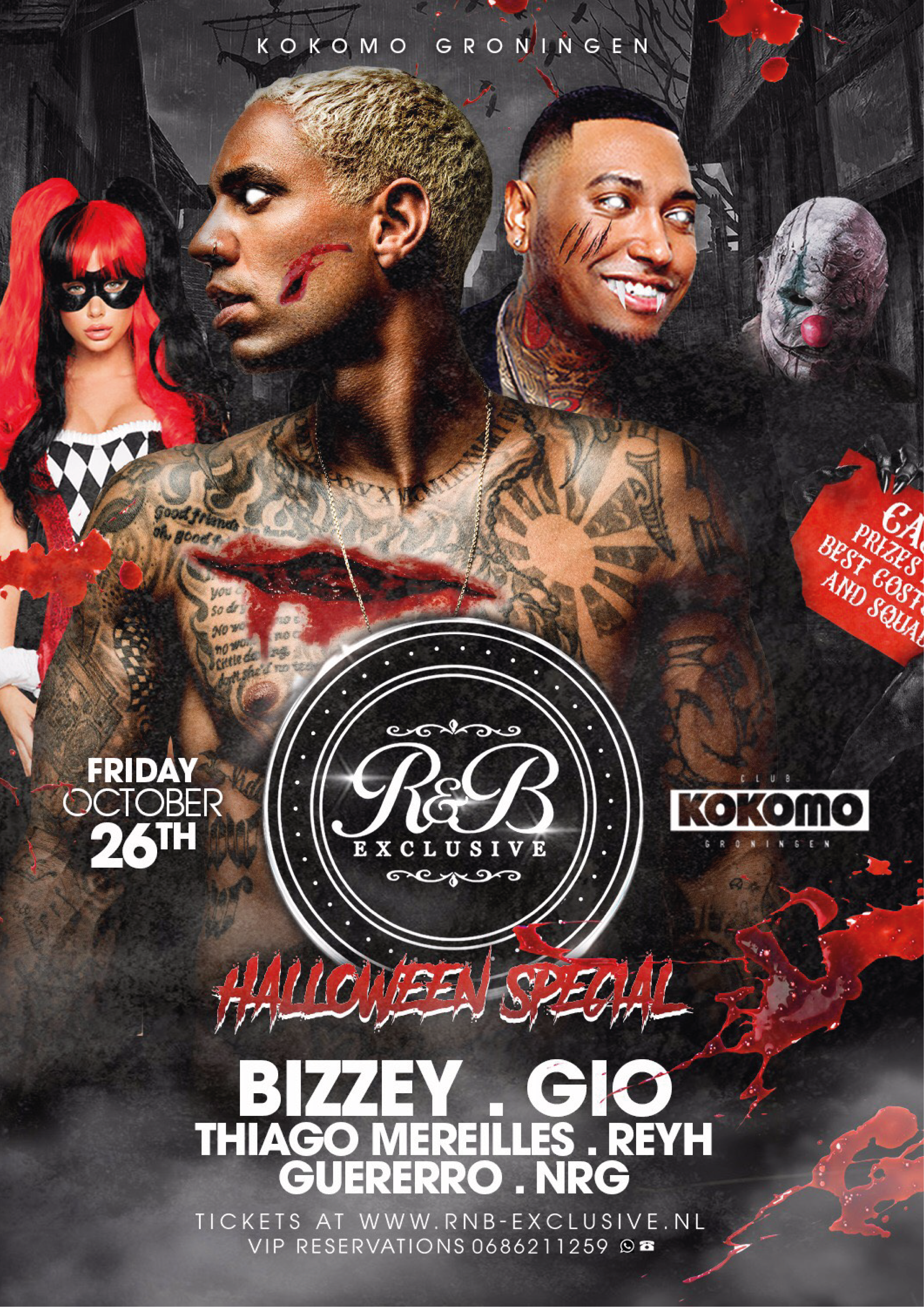 R&B Exclusive w/ Bizzey Live x Halloween Special