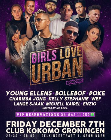 Girls Love Urban by Bollebof and R&B Exclusive