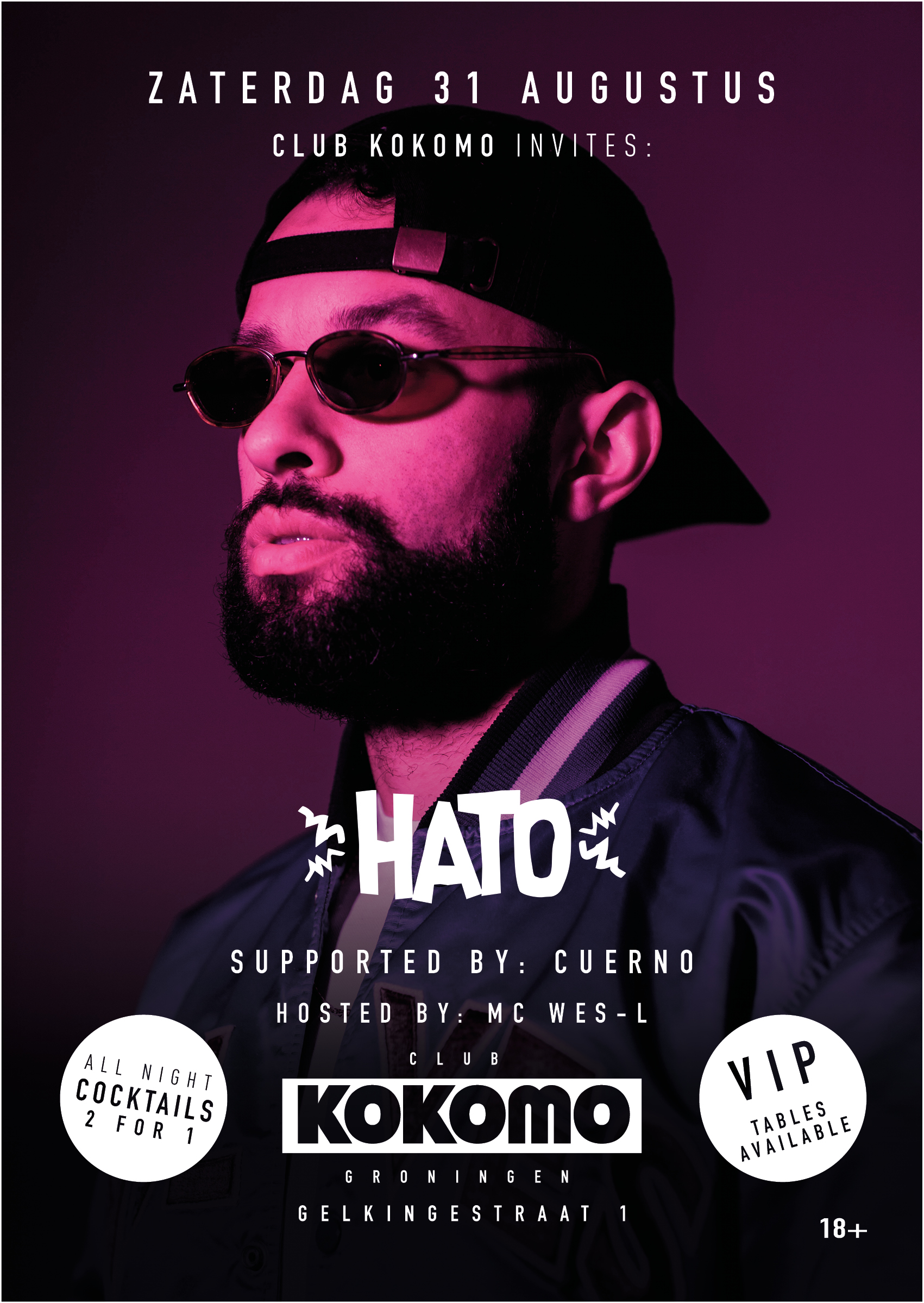 Club Kokomo Invites: HATO