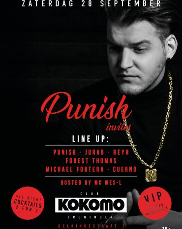 Club Kokomo Invites: DJ Punish & Friends