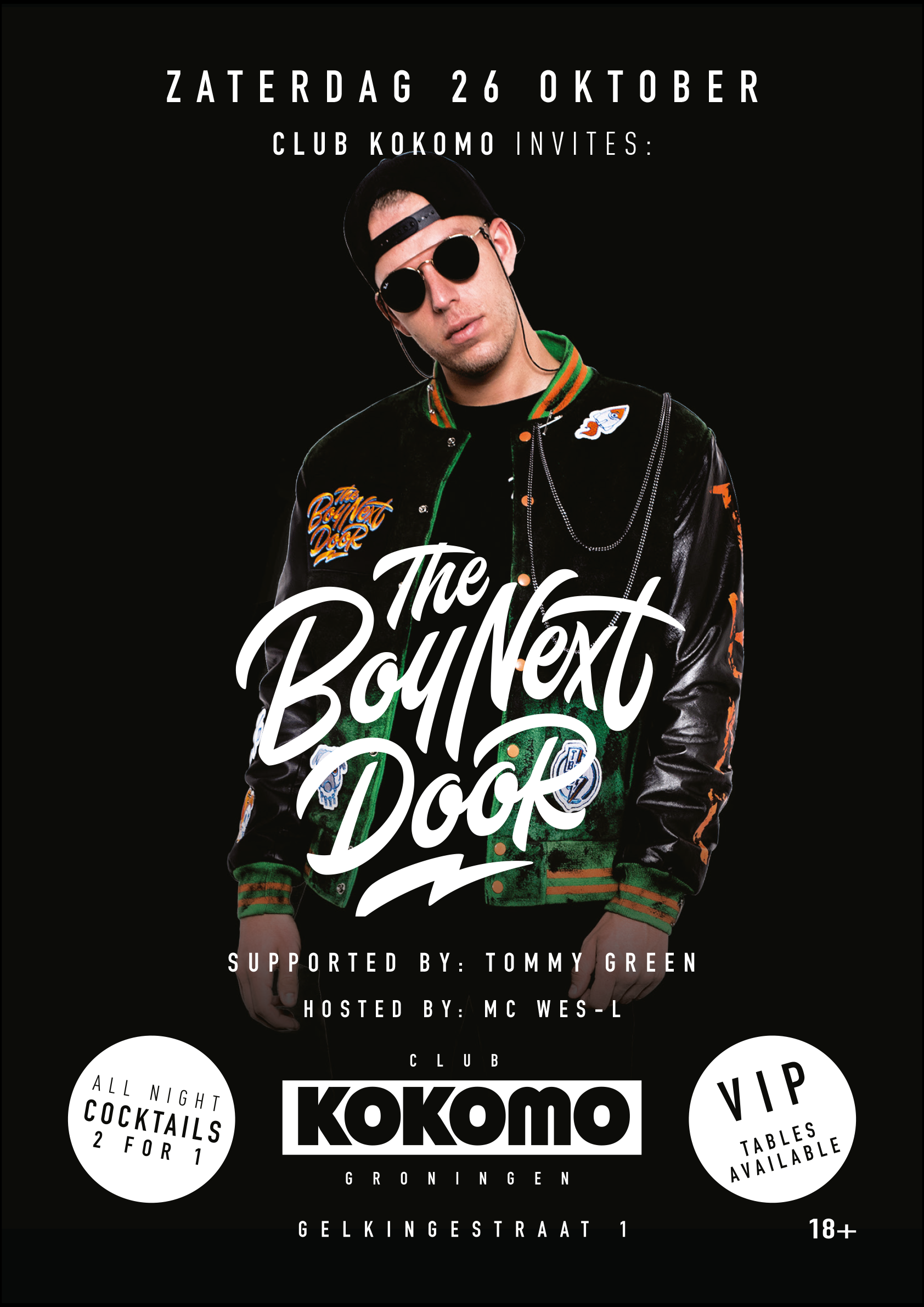 Club Kokomo Invites: The Boy Next Door